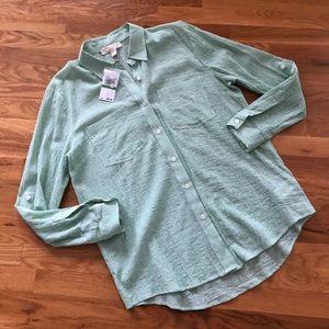Michael by Michael Kors Cotton Button Down Shirt